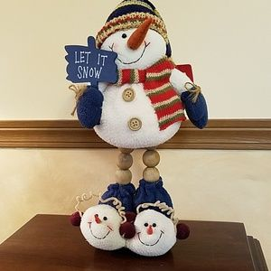 NWT Snowman decor